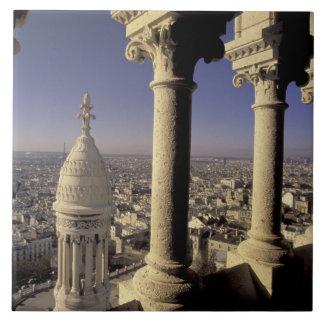 ヨーロッパ、フランス、パリ、パリの眺め タイル