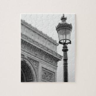 ヨーロッパ、フランス、パリ。 凱旋門 ジグソーパズル