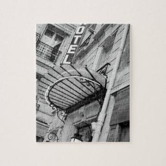 ヨーロッパ、フランス、パリ。 左銀行ホテルの詳細 ジグソーパズル