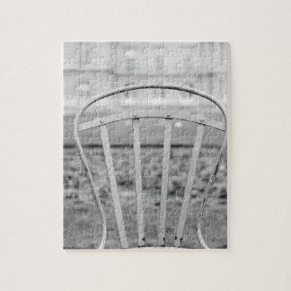 ヨーロッパ、フランス、パリ。 椅子、Jardin DU ジグソーパズル