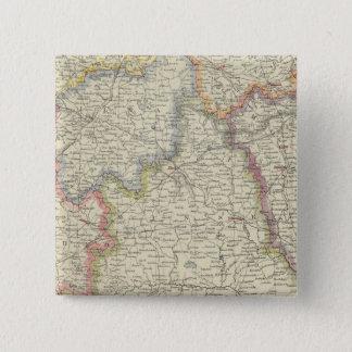 ヨーロッパ、ベルラーシ、ウクライナ 5.1CM 正方形バッジ