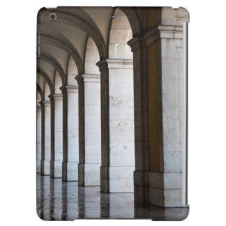 ヨーロッパ、ポルトガル、リスボン。 アーケードのコラム iPad AIRケース