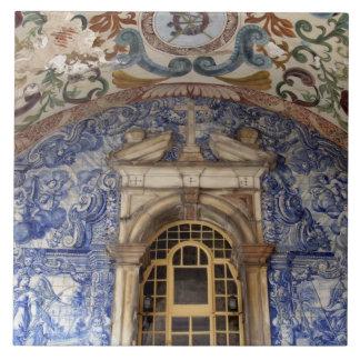 ヨーロッパ、ポルトガル、Obidos。 建築カラフル タイル