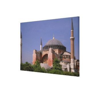 ヨーロッパ、中東、トルコ、イスタンブール。 Aya キャンバスプリント