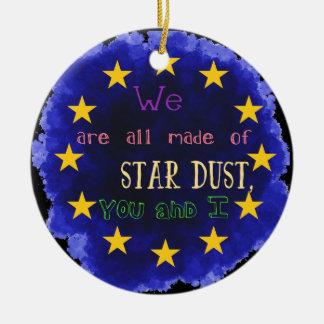 ヨーロッパ-星図 セラミックオーナメント