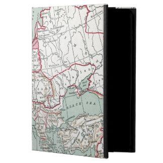 ヨーロッパ、12世紀の地図 iPad AIRケース
