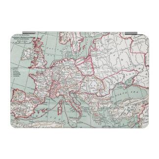 ヨーロッパ、12世紀の地図 iPad MINIカバー