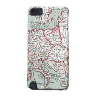 ヨーロッパ、12世紀の地図 iPod TOUCH 5G ケース