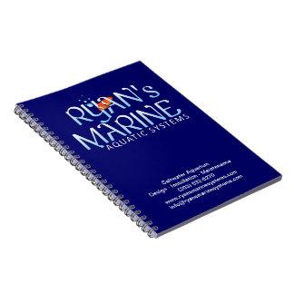 ライアンの海洋のノート ノートブック