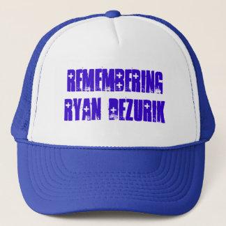 ライアンDeZURIKの記憶 キャップ