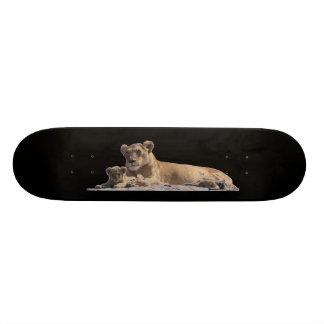 ライオンおよびカブス 21.6CM スケートボードデッキ