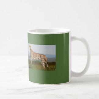 ライオンおよびチータのマグ コーヒーマグカップ