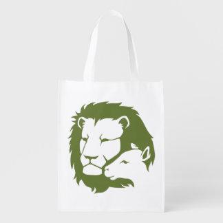 ライオンおよび子ヒツジ エコバッグ
