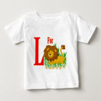 ライオンのためのL ベビーTシャツ