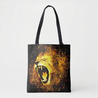 ライオンのとどろきのトートバック トートバッグ