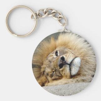 ライオンのまばたきKeychain キーホルダー