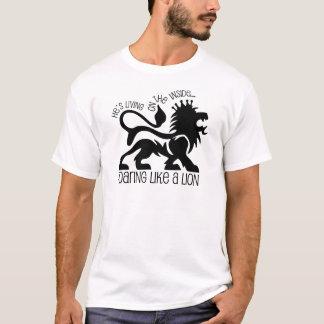 ライオンのようにとどろくこと Tシャツ