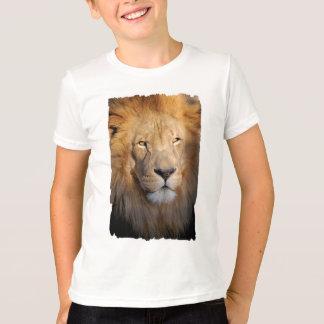 ライオンのイメージの子供のTシャツ Tシャツ
