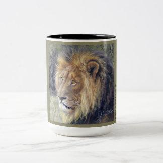 ライオンのサファリのツートーンマグ ツートーンマグカップ