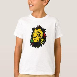 ライオンのジャマイカの一見 Tシャツ