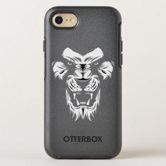 ライオンのデザインの信じられないいiPhone 7の対称の場合 オッターボックスシンメトリーiPhone 8/7 ケース