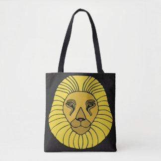 ライオンのデザイン#6 トートバッグ