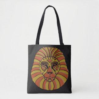 ライオンのデザイン#7 トートバッグ