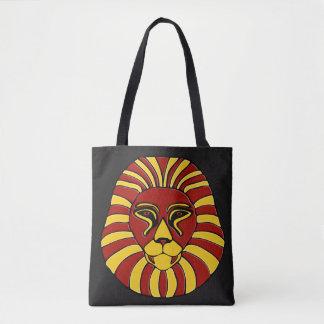 ライオンのデザイン#8 トートバッグ