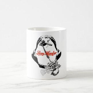 ライオンのハンターのマグの限定版 コーヒーマグカップ