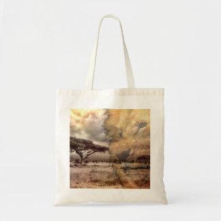 ライオンのバッグ トートバッグ