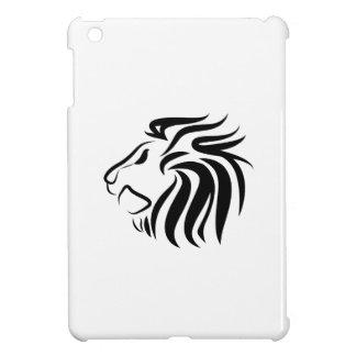ライオンのピクトグラムのiPad Miniケース iPad Miniケース