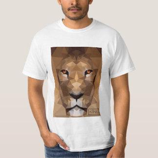 ライオンのヘッドワイシャツ Tシャツ