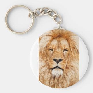 ライオンのポートレート キーホルダー