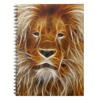 ライオンのポートレート ノートブック