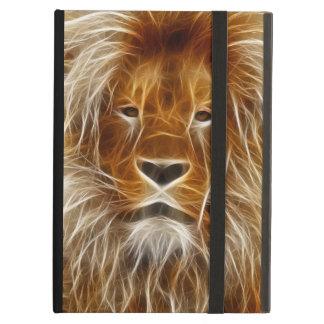 ライオンのポートレート iPad AIRケース
