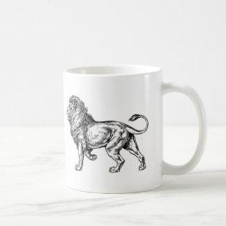 ライオンのマグ コーヒーマグカップ