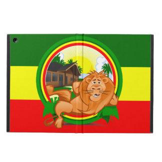 ライオンのラスタ iPad AIRケース