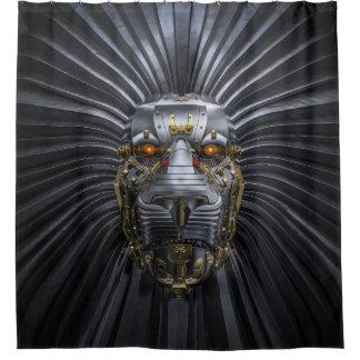 ライオンのロボットシャワー・カーテン シャワーカーテン
