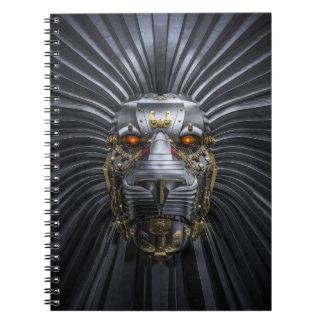 ライオンのロボットノート ノートブック