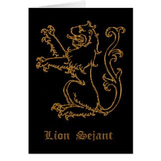 ライオンの中世紋章学 カード