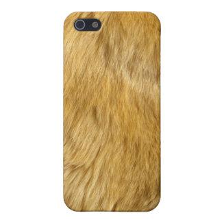 ライオンの体の毛皮の皮iPhone4の箱カバーiphone 4 iPhone 5 ケース