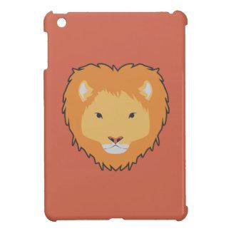 ライオンの光沢のある茶色のipadの箱 iPad mini カバー