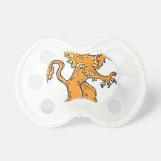 ライオンの創造物のスケッチのベクトル おしゃぶり