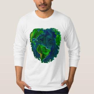 ライオンの地球 Tシャツ