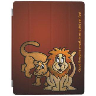 ライオンの女性および紳士 iPadスマートカバー