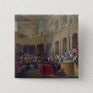 ライオンの委員会、1802年1月26日1808年 5.1CM 正方形バッジ