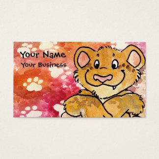 ライオンの子の名刺 名刺