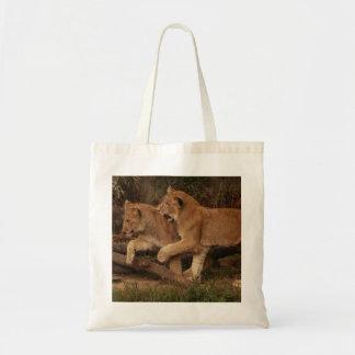 ライオンの子 トートバッグ