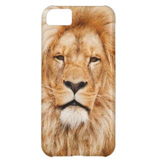 ライオンの携帯電話の箱 iPhone5Cケース