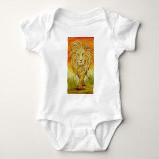 ライオンの支柱 ベビーボディスーツ